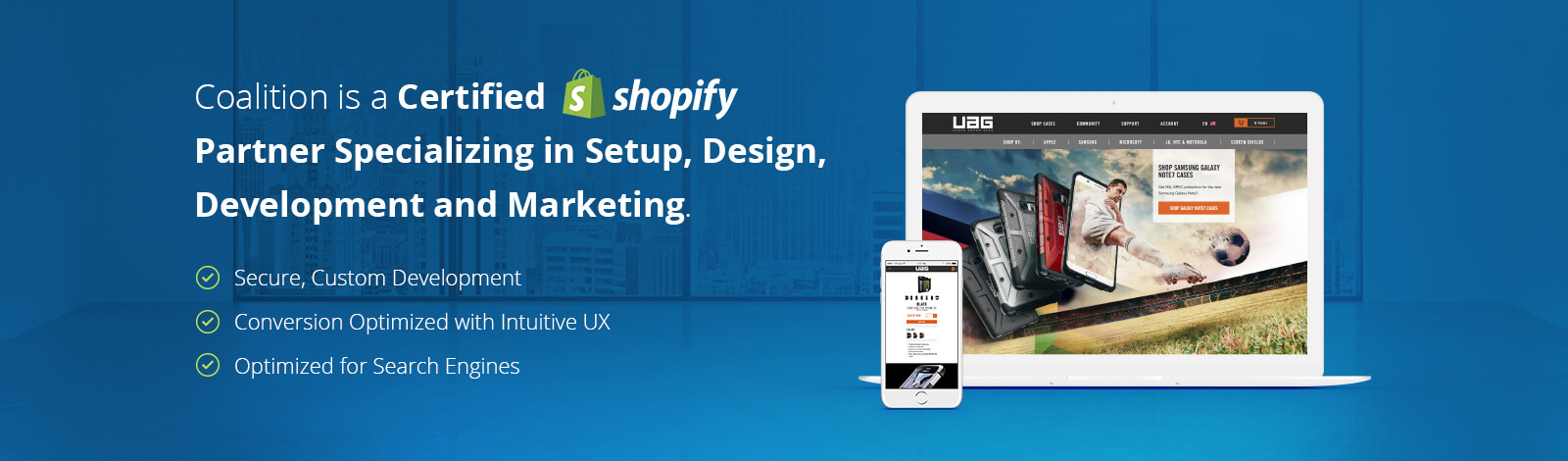 Shopify Website Design & Development Service in Los Angeles