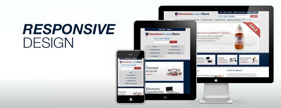 Responsive design for tomorrow's websites