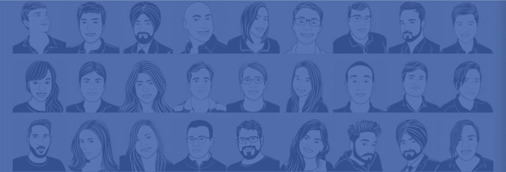 Coalition Technologies team illustrations