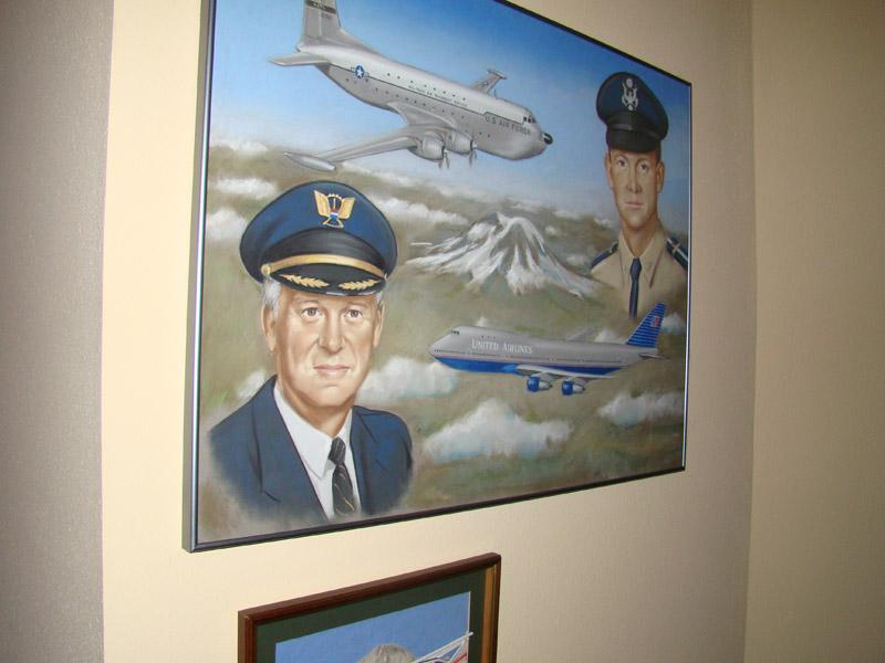 Grandpa Martin's retirement painting