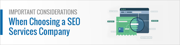 Important Considerations When Choosing a SEO Services Company