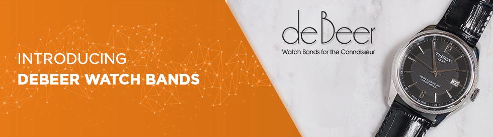 Introducing deBeer Watch Bands