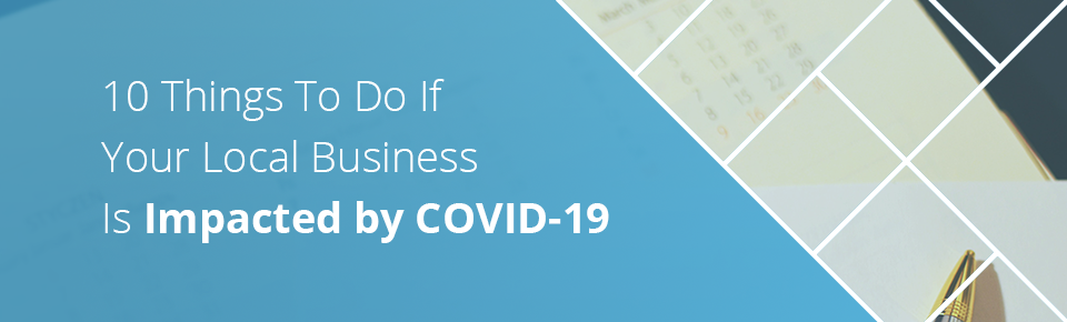 Local Business Is Impacted by COVID-19