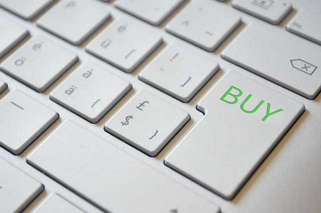 buy button on the keyboard
