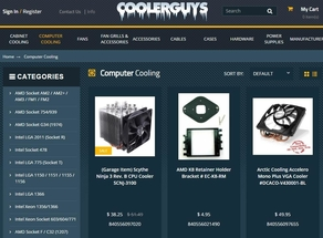 cooler guys product page