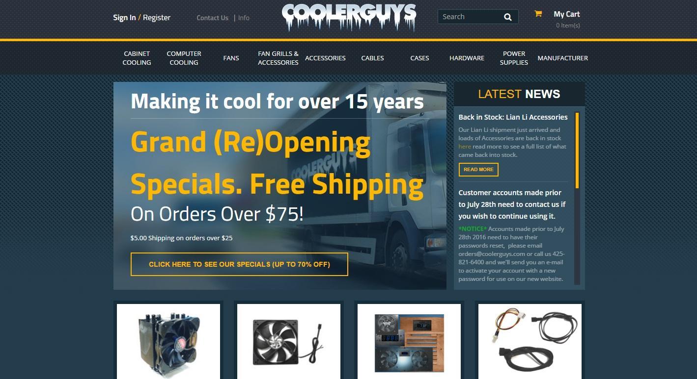 coolerguys-homepage
