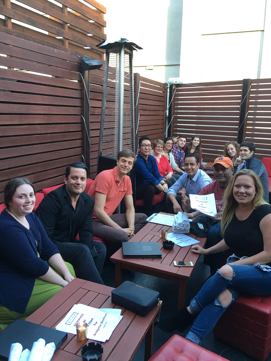 Coalition's Team Bonding At Happy Hour