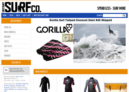 Discount Surf CO