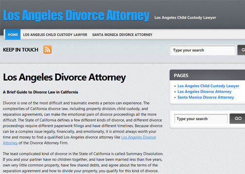 Divorce Attorney Firm
