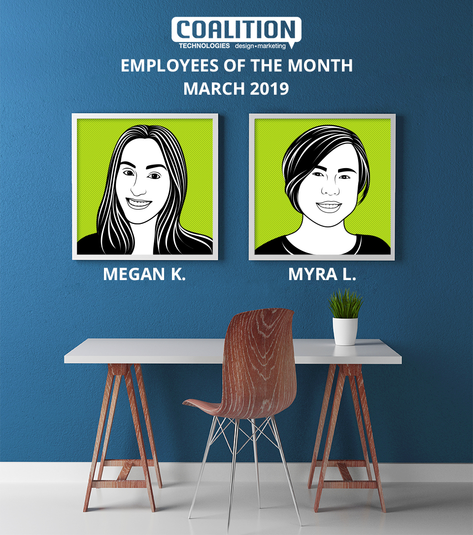 Employees of the month - March 2019