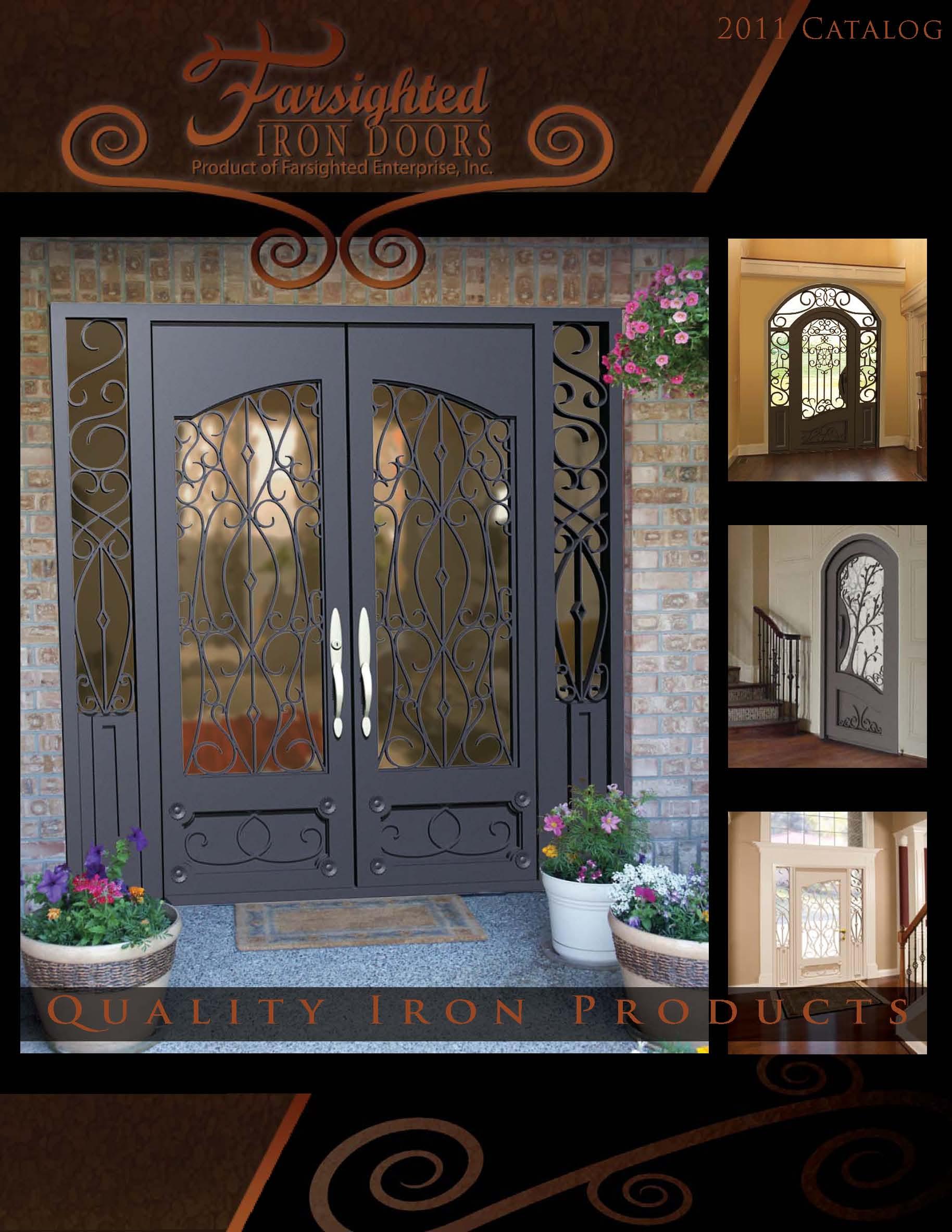 Iron doors from Value Windows and Doors