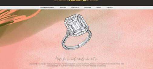 Lindsey Scoggins website screenshot