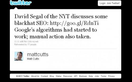 Matt Cutts, Google's Spam Guru, on JC Penney SEO bust