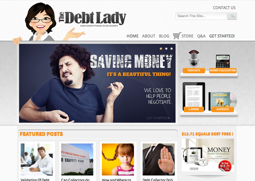 The Debt Lady