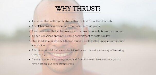 Why Thrust?