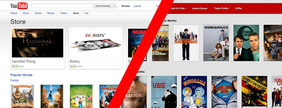 YouTube vs. Netflix